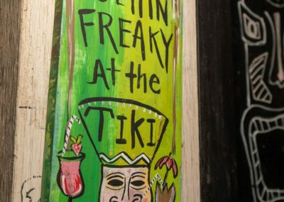 Get Freaky at the Tiki Sign